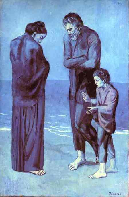 Pablo Picasso - The Tragedy