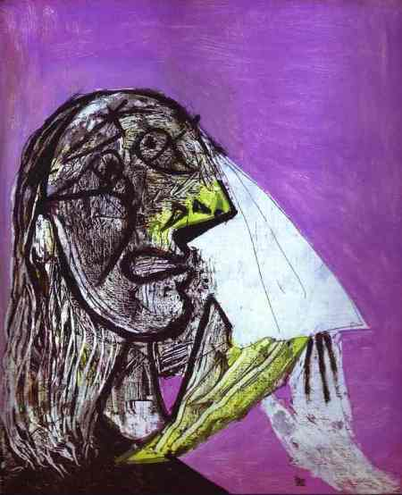 Pablo Picasso - A Woman in Tears