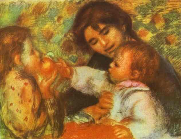 pierre-auguste-renoir-gabrielle-with-renoirs-children