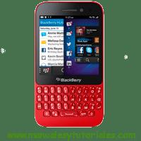 Blackberry Q5 Manual usuario PDF español