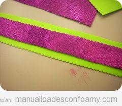Objetos y decoraci n manualidades con foamy todo sobre for Como hacer pulseras de goma eva
