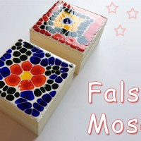 Como hacer Falso Mosaico