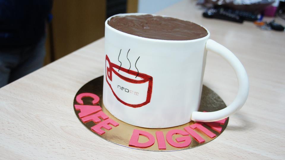 1er aniversario cafe digital