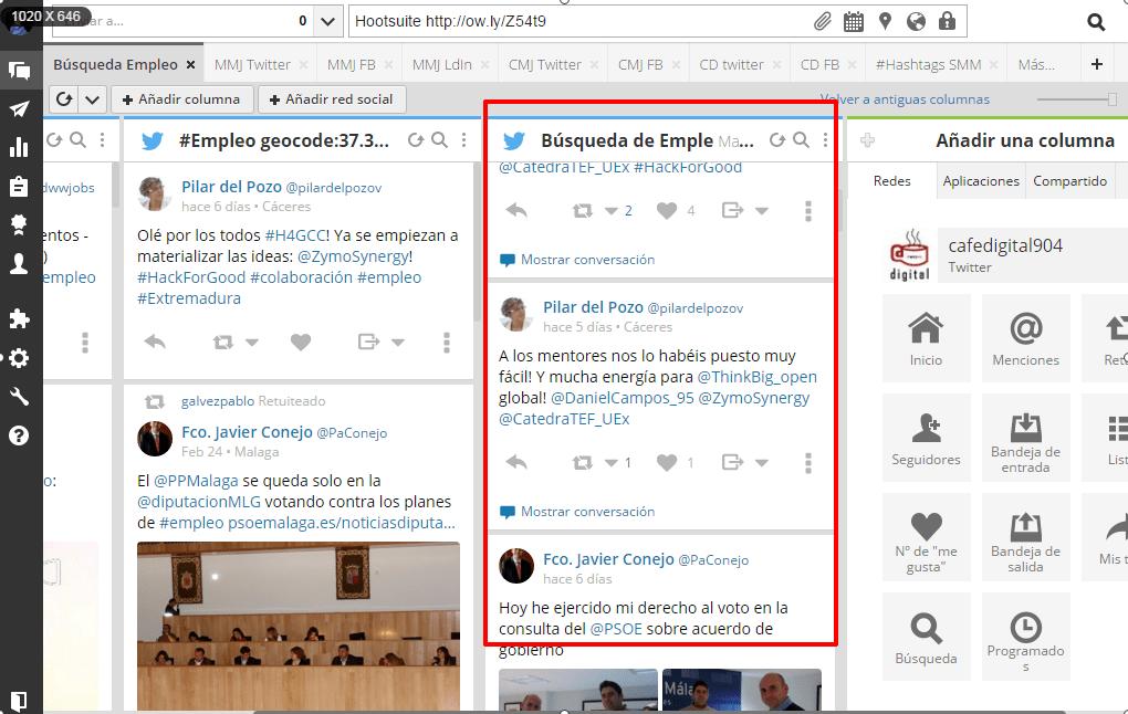 crear listas Hootsuite 2