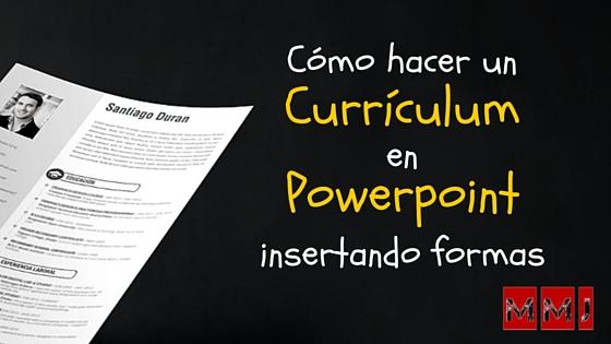 Cómo hacer un currículum original en Powerpoint