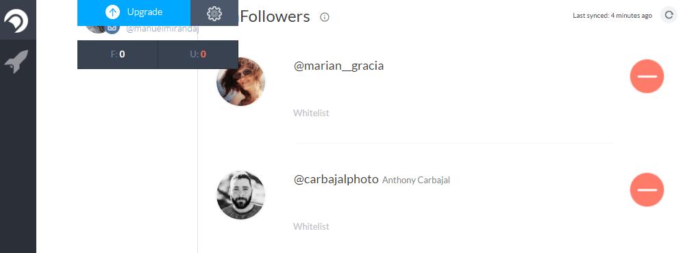 saber quien no me sigue en Instagram Crowdfire