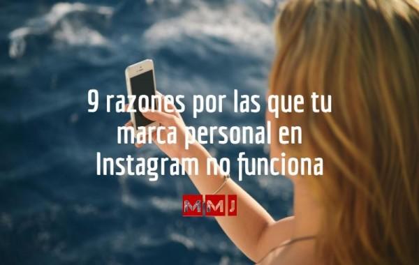 9 errores al trabajar tu marca personal en Instagram