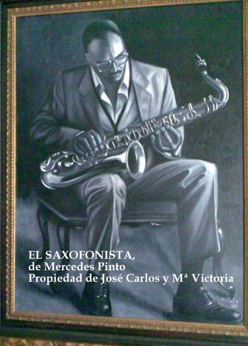 mercedes pinto maldonado obras El saxofonista