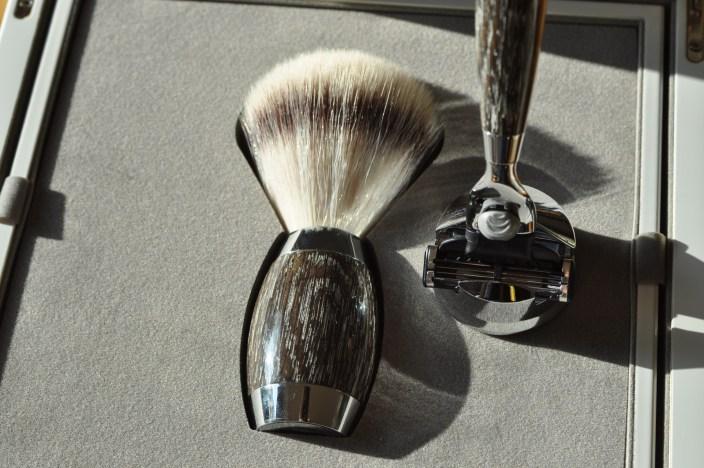 Manufakturen-Blog: Mühle Rasier-Set Edition No. 3 in Mooreiche und Silber (Foto: Wigmar Bressel)