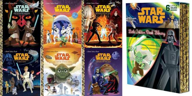 Star Wars books for kids, Star Wars for kids, Star Wars early reader, Star Wars episodes I II III Little Golden books, Star Wars girl, Star Wars books for girls,