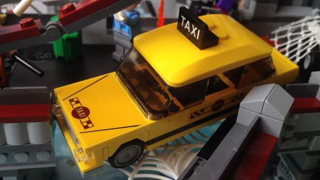 LEGO Marvel Superheroes Spider-Man Web Warriors Ultimate Bridge Battle 76057 taxi