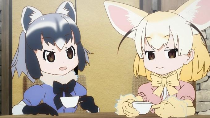 アライグマとフェネック(第5話画像)