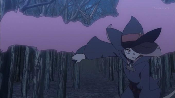 スーシィの戦闘シーン(第5話画像)
