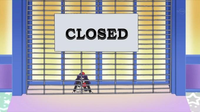 店を閉める華園みあ