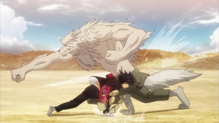 人狼を殴る近衛刀太