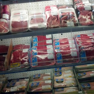 in our awesome meat department!