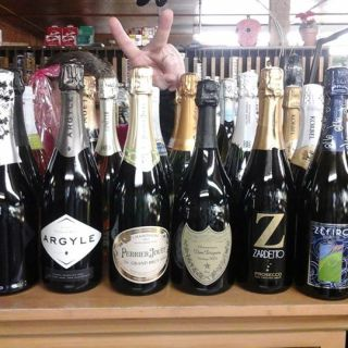 Small collection of some of our more popular Champagnes and sparkling wines!