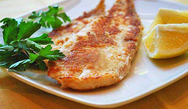 Pan Fried Dover Sole with Lemon-Butter Sauce