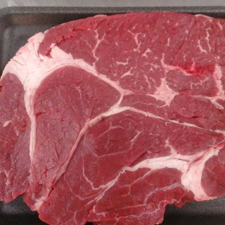 Boneless Chuck Steak, $4.99/Lb