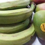 Delicious Plantains & Organic Mangos in now.