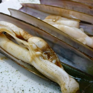 """Razor clams"" by H.R. Giger"
