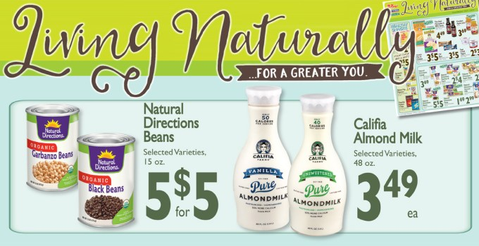 January's Living Naturally Specials!