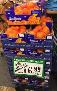 Satsuma Mandarins $6.99 per 5 lb box