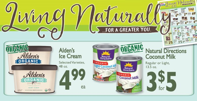 New Living Naturally Specials