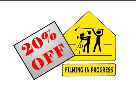 20% Off Movie Special
