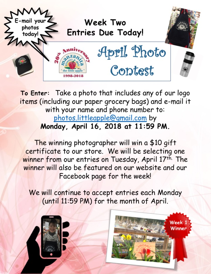 April Photo ContestWeek2