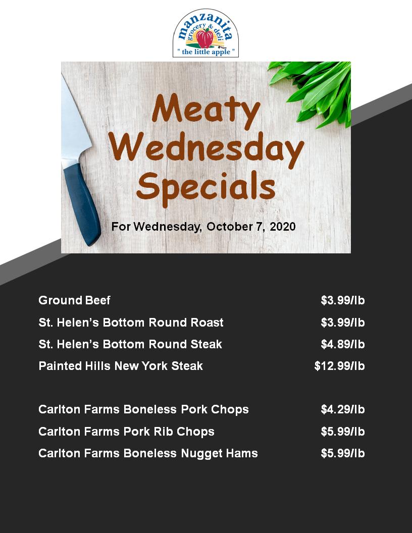 20-1002 Meaty Wednesday