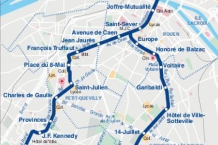 800 rouen metro plan