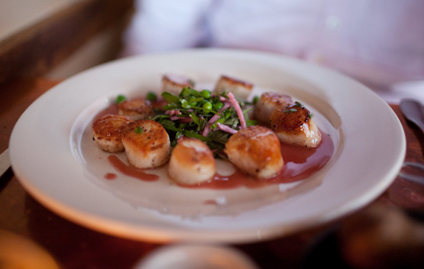 Scallops at Fore Street