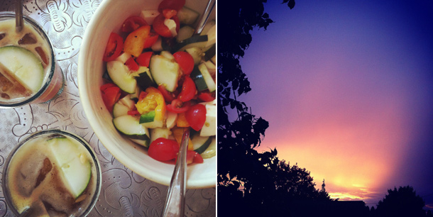 Provence Dinner, Sunday Sunset
