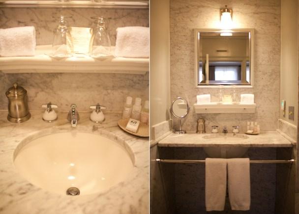 Hotel Fauchere Bathroom