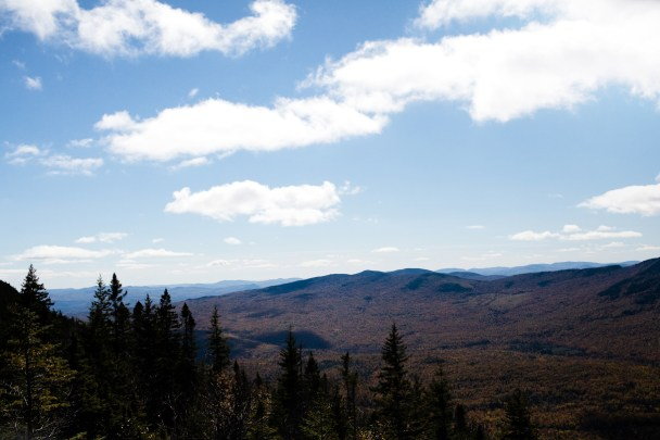 View from Tumbledown Pond