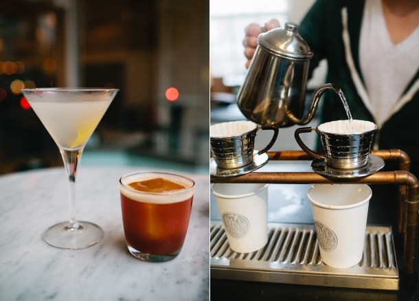 The Belmont and Black Tap Coffee