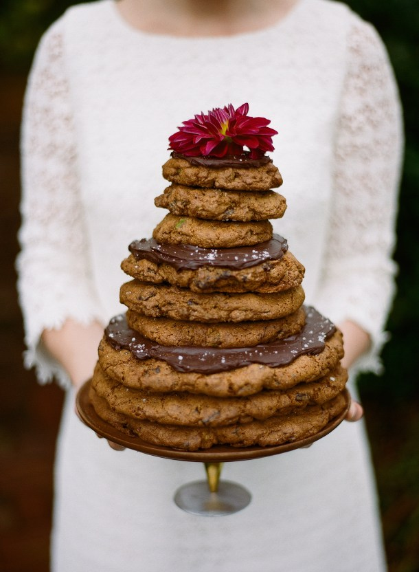 Wedding Cookie Cake from Scratch Baking Co., Photo by Sarah Der