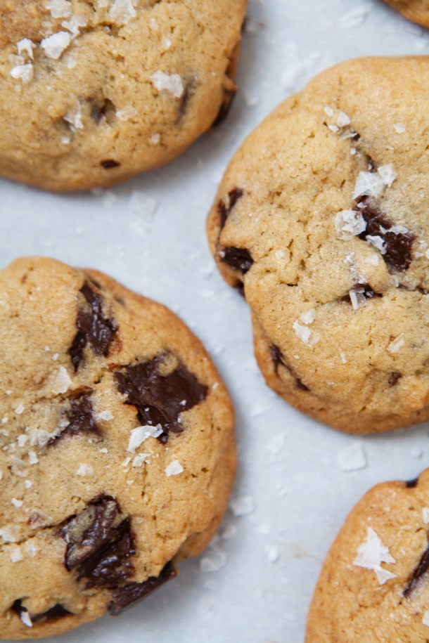 Sea Salt Chocoalte Chip Cookies