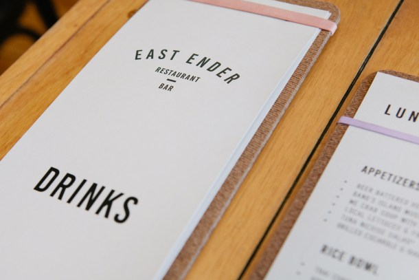 East Ender, Portland Maine via Map & Menu