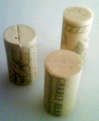 Place Card Primer: Recycled Wine Corks (5/6)