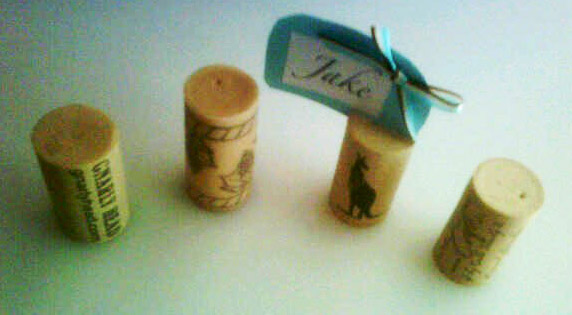 Place Card Primer: Recycled Wine Corks (2/6)