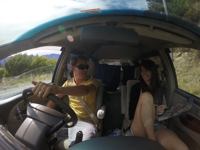 Jucy Campervan Road Trip