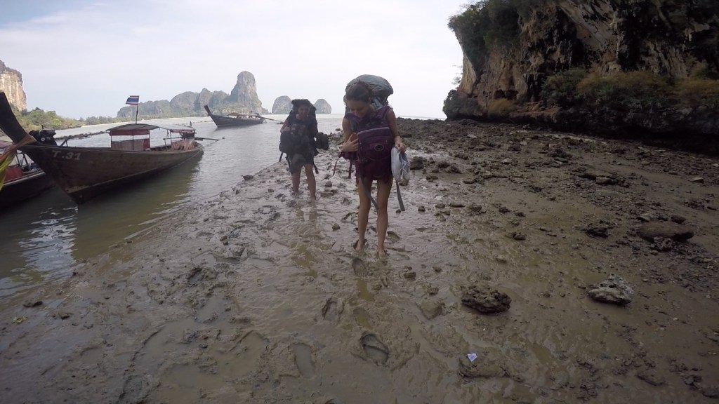 Low Tide Tonsai Thailand