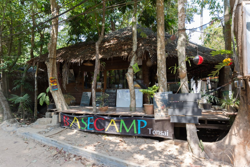 Base Camp Rock Climbing in Railay