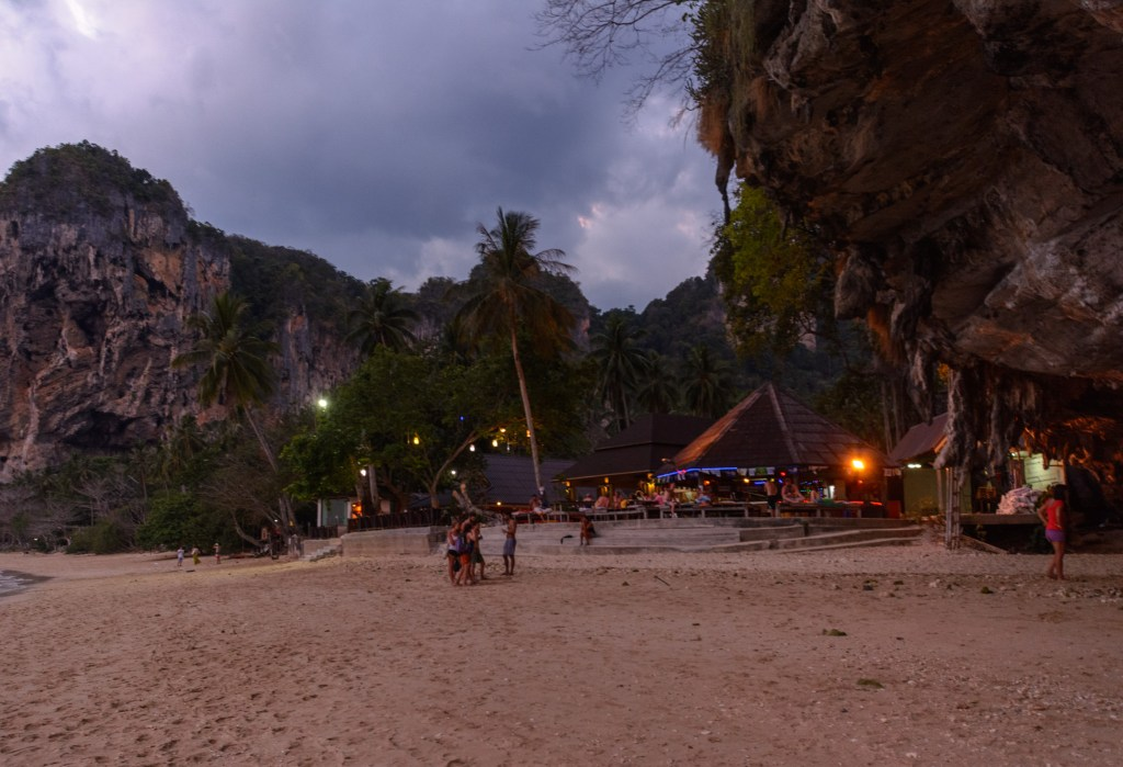 Beach Restaurant Tonsai Thailand
