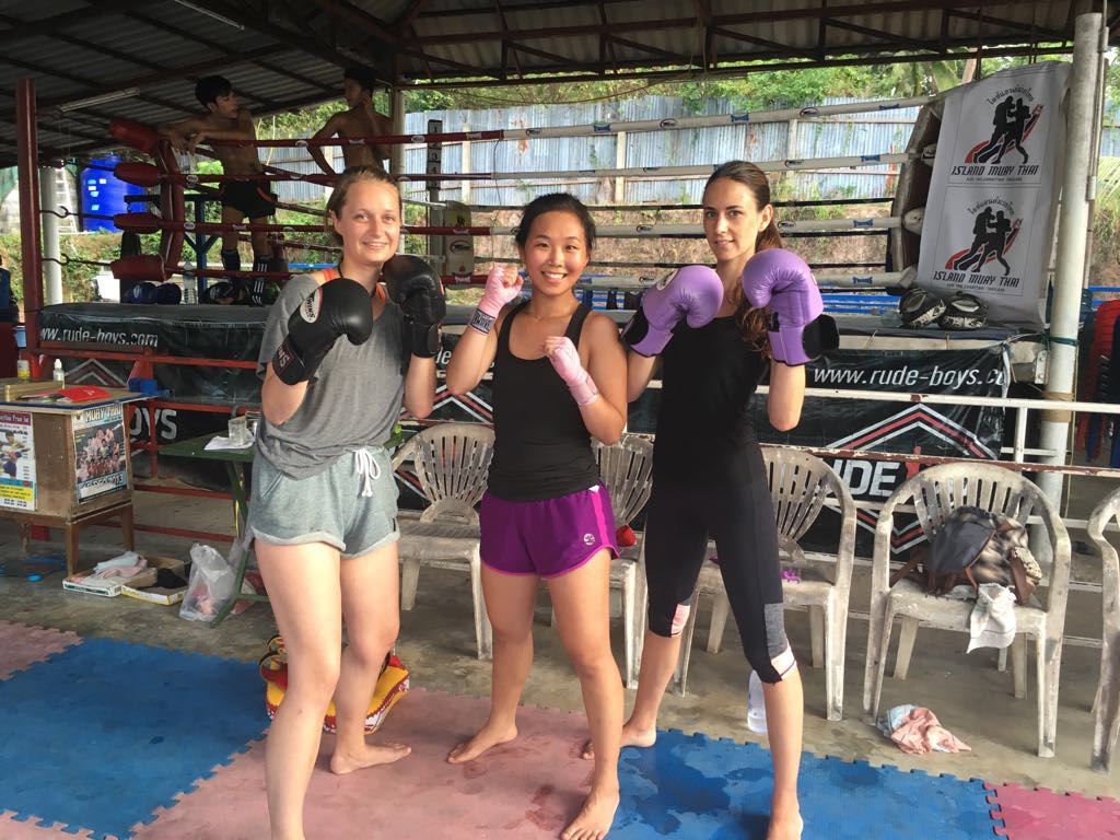Island Muay Thai Ladies
