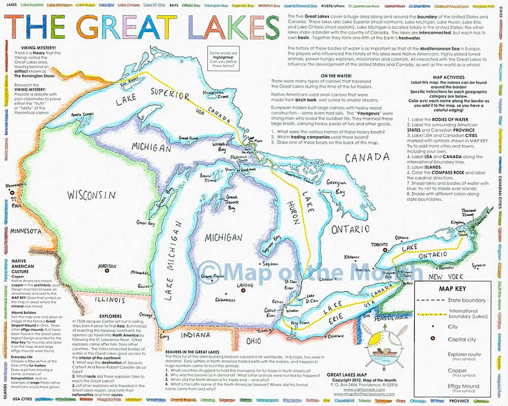 FileMap Of USA Highlighting Great Lakes Regionpng Wikimedia Great