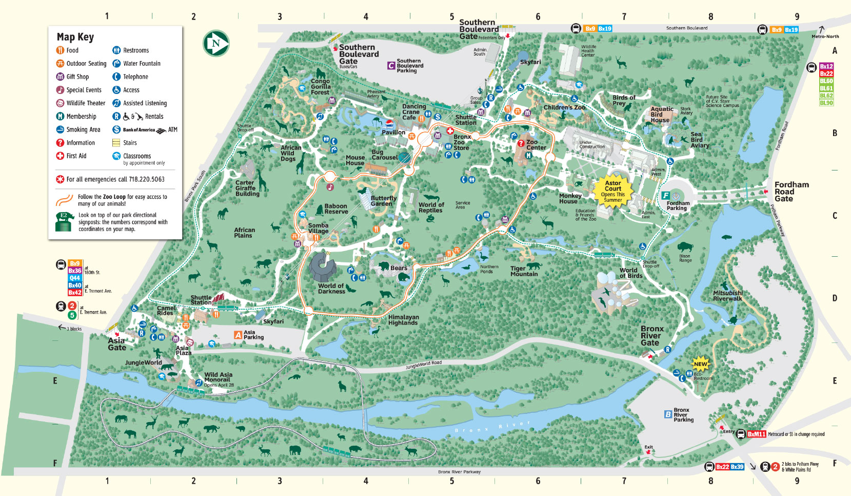 map to toronto zoo
