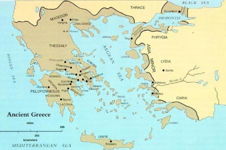 Map of ancient greece world gumiabroncs Gallery